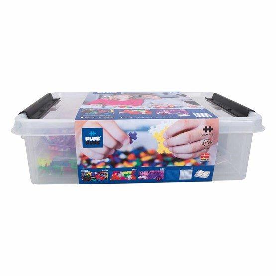 Plus-Plus - Storage Box Mix - 2400 pcs (3406)