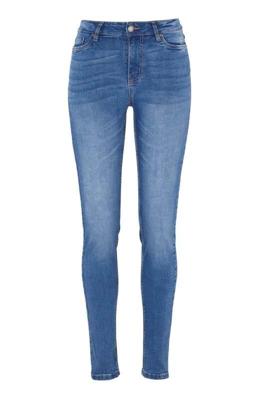 Cellbes Superstretchiga jeans Paris Ljusblå Denim