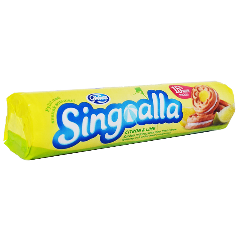Singoalla Lemon & Lime 190g - 41% rabatt