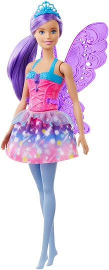 Barbie Dreamtopia Dukke Fairy, Lilla