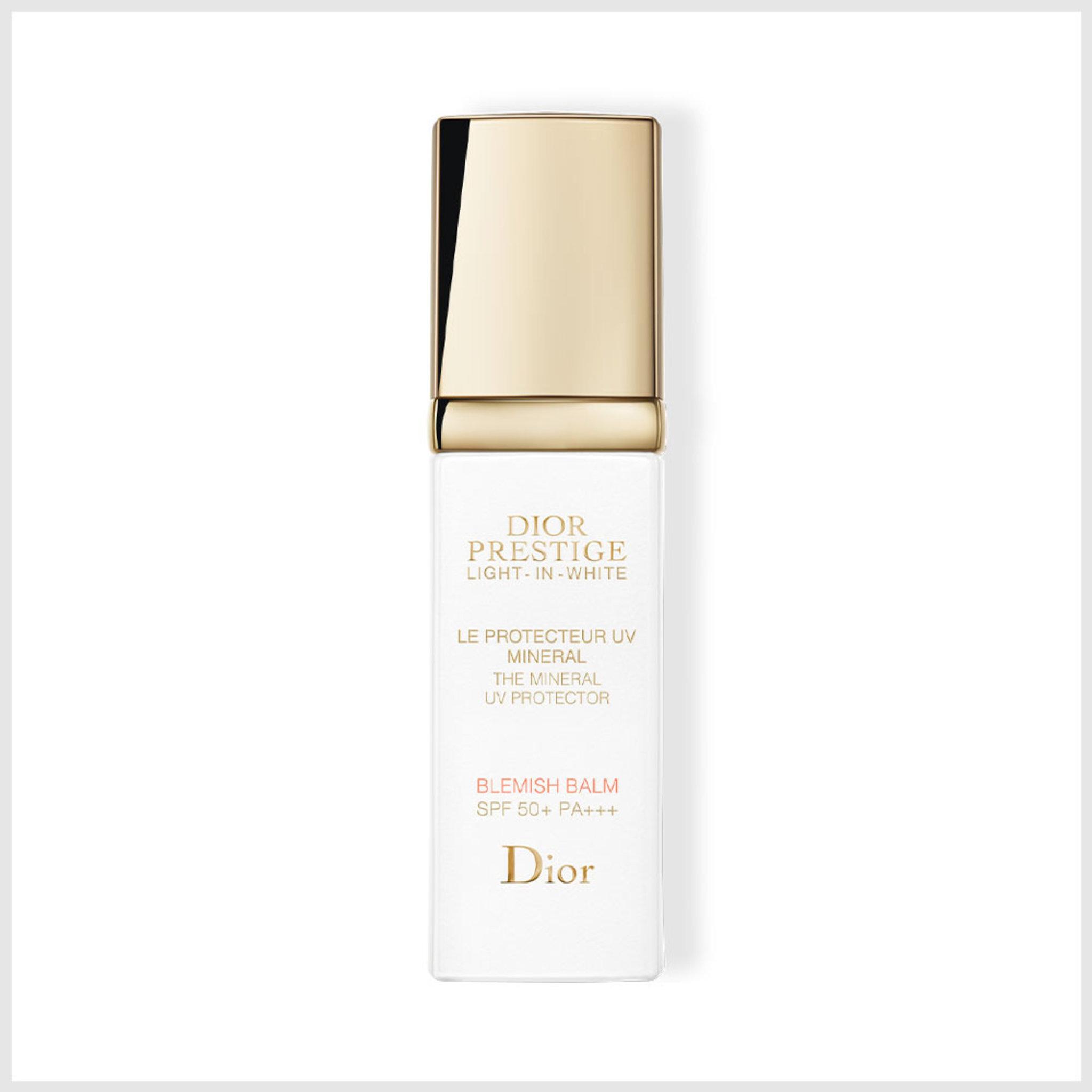 Dior Prestige Light-In-WhiteThe Mineral UV ProtectorBlemish Balm SPF 50+ PA+++