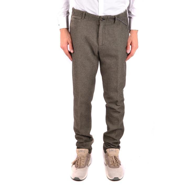 Daniele Alessandrini Men's Trouser Green 163254 - green 46