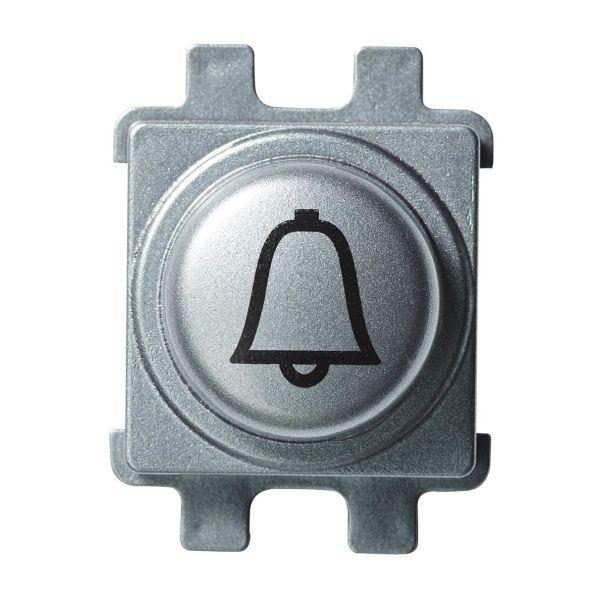 Schneider Electric WDE011526 Painonappi ruostumaton, kellosymbolilla