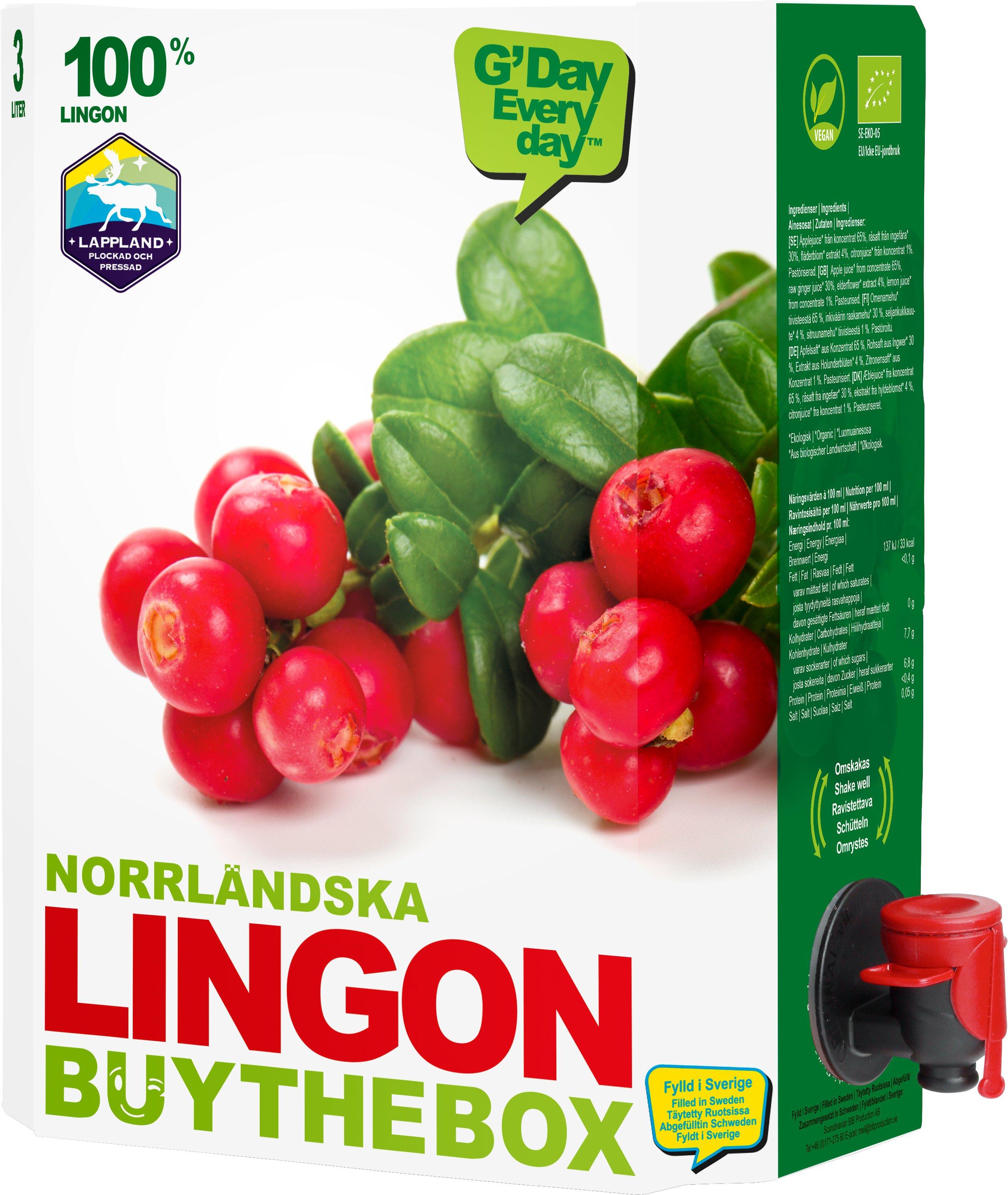 Norrländsk Lingonjuice - 24% rabatt