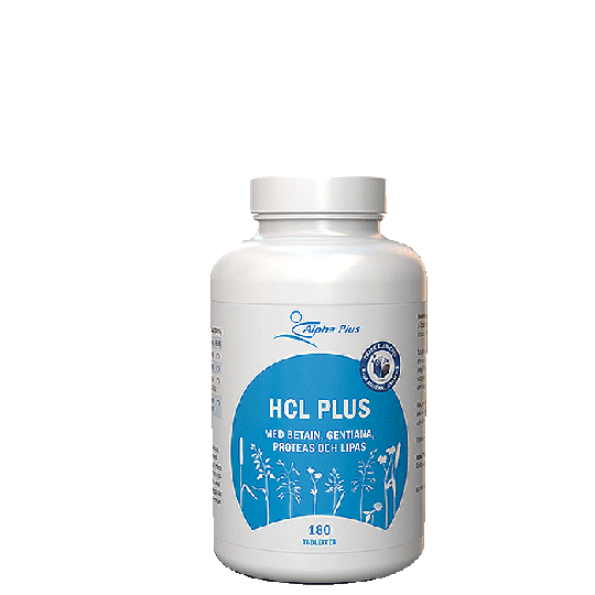HCL Plus, 180 tabletter