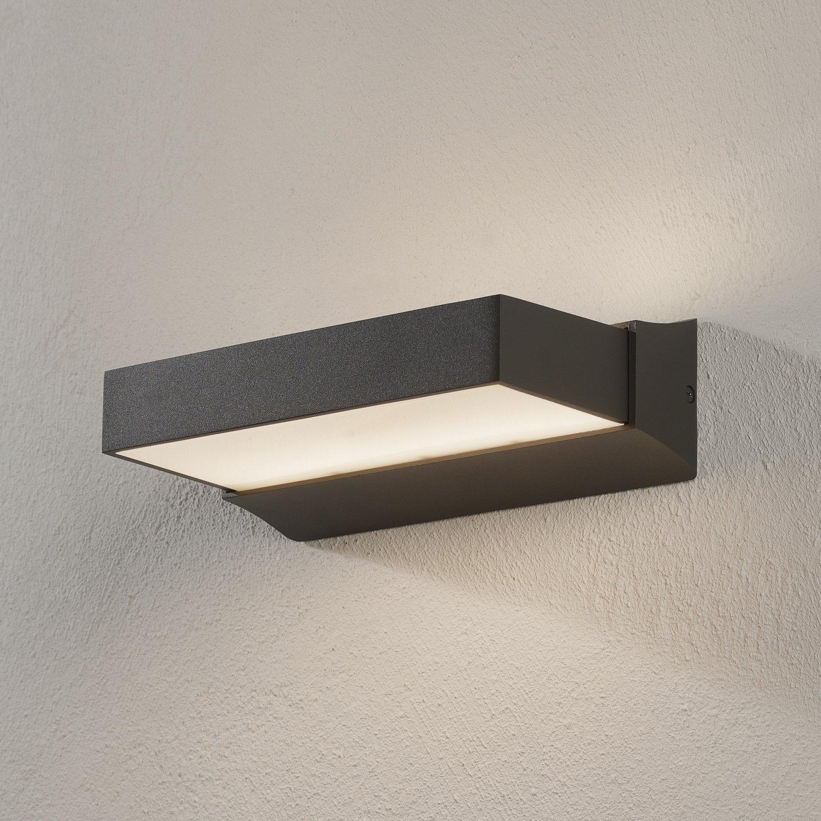 Utendørs LED-vegglampe Cuando, up/down