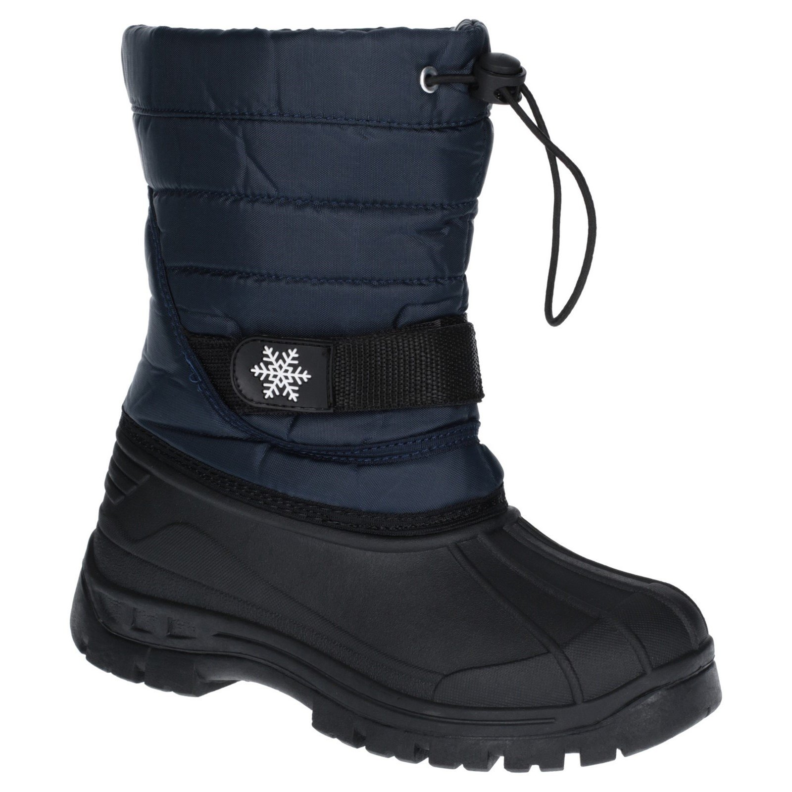 Cotswold Kid's cicle Toggle Lace Snow Boot Various Colours 27184 - Navy 5