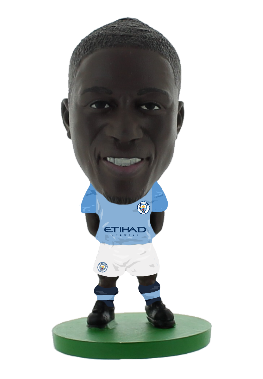 Soccerstarz - Man City Benjamin Mendy - Home Kit (2020 version)