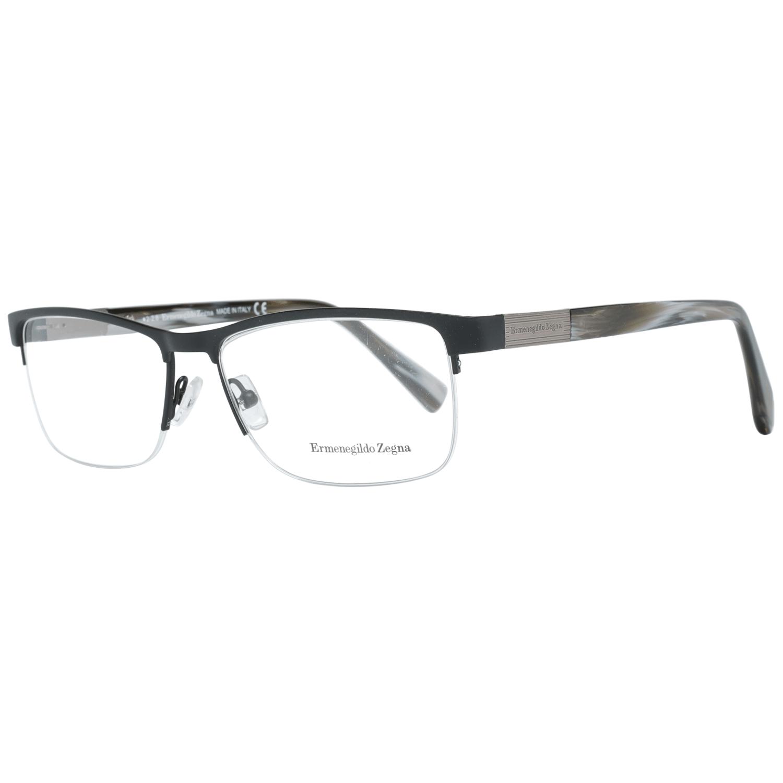 Ermenegildo Zegna Men's Optical Frames Eyewear Black EZ5077 56002