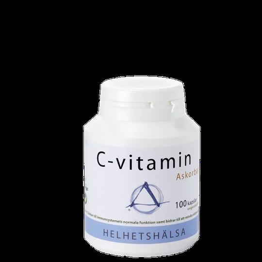 C-vitamin, askorbat, 100 kaps
