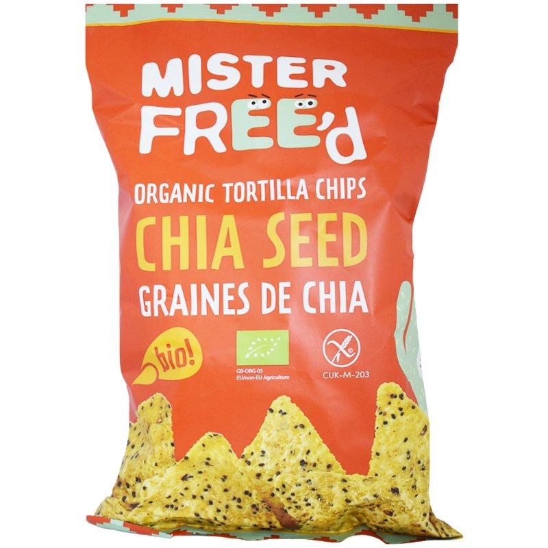 "Eko Tortillachips ""Chia Seed"" 135g - 64% rabatt"