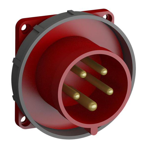 ABB 2CMA102399R1000 Paneelin sisääntulo pikaliitettävä, tärinänkestävä Suora, 5-nastainen, 32 A