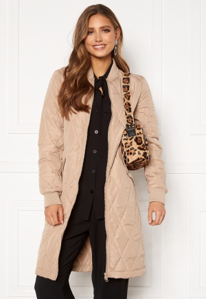 Happy Holly Freya quilted coat Beige 32/34