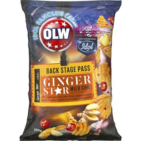 OLW Idol Ingefära & Mild Chili - LTD Edition 250g