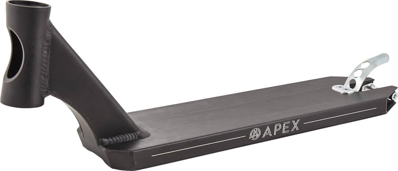 "Apex 5"" Peg Cut Sparkcykel Deck 49cm Svart"