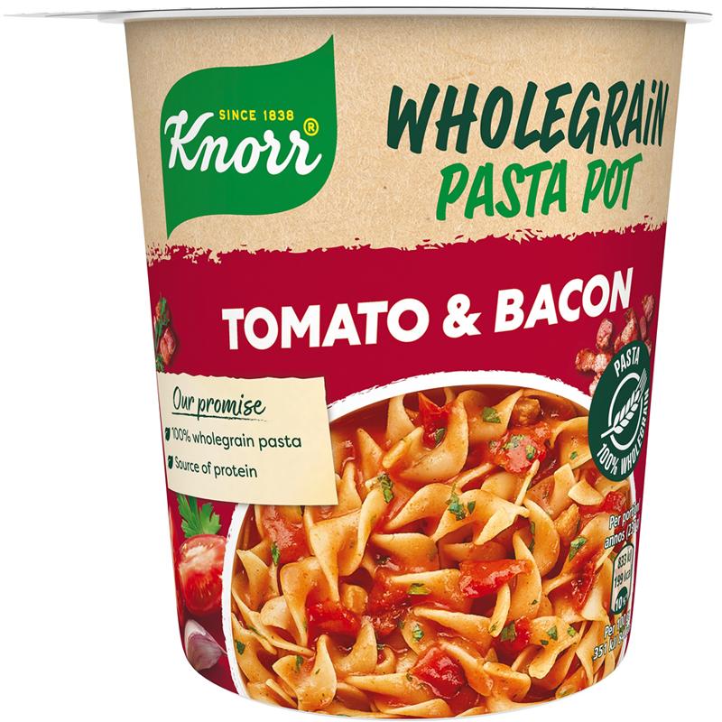 Snack Pot Täysjyvä Tomaatti & Pekoni - 18% alennus