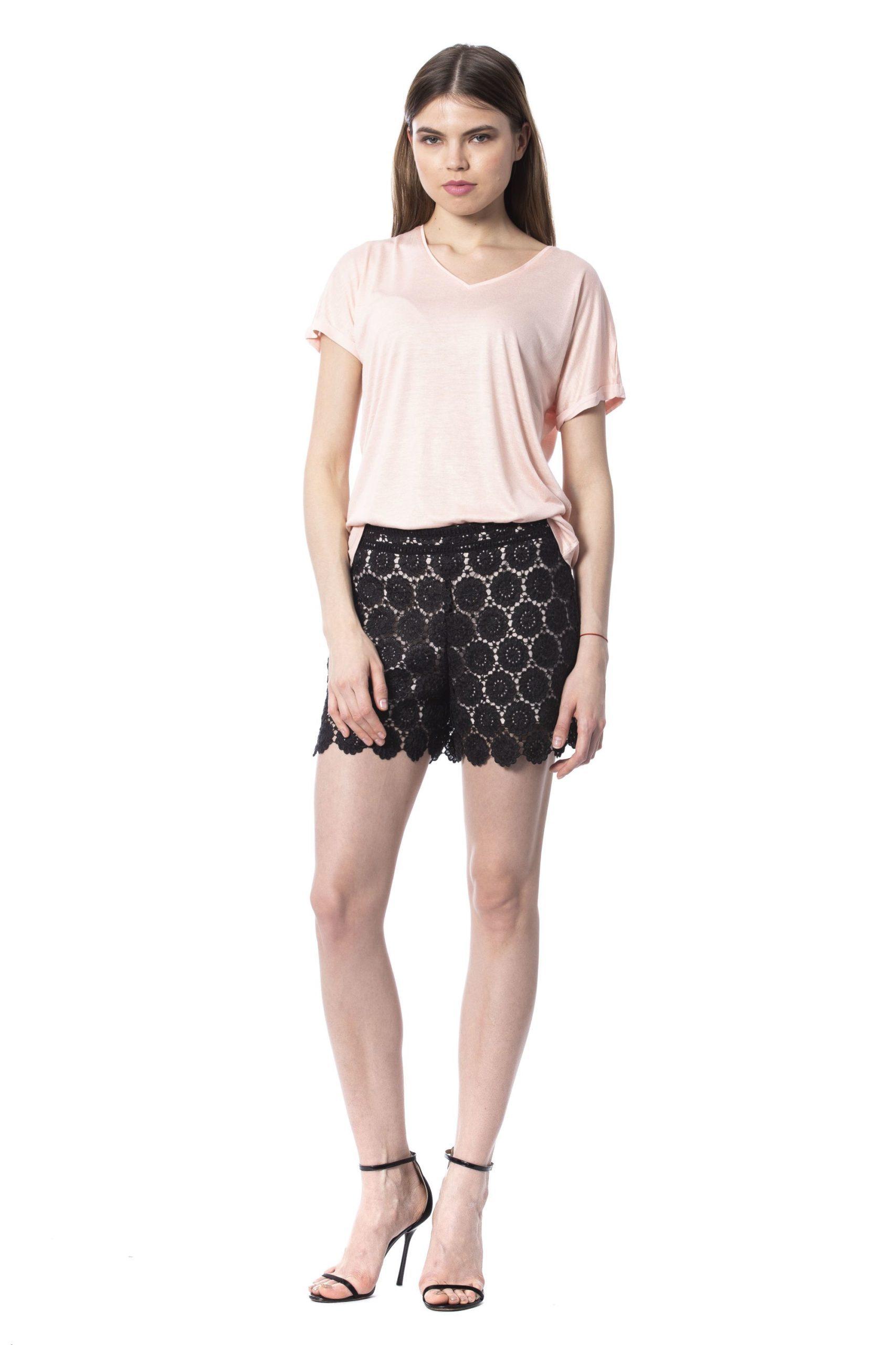 Silvian Heach Women's Pinkpowder T-Shirt Pink SI1235130 - XS