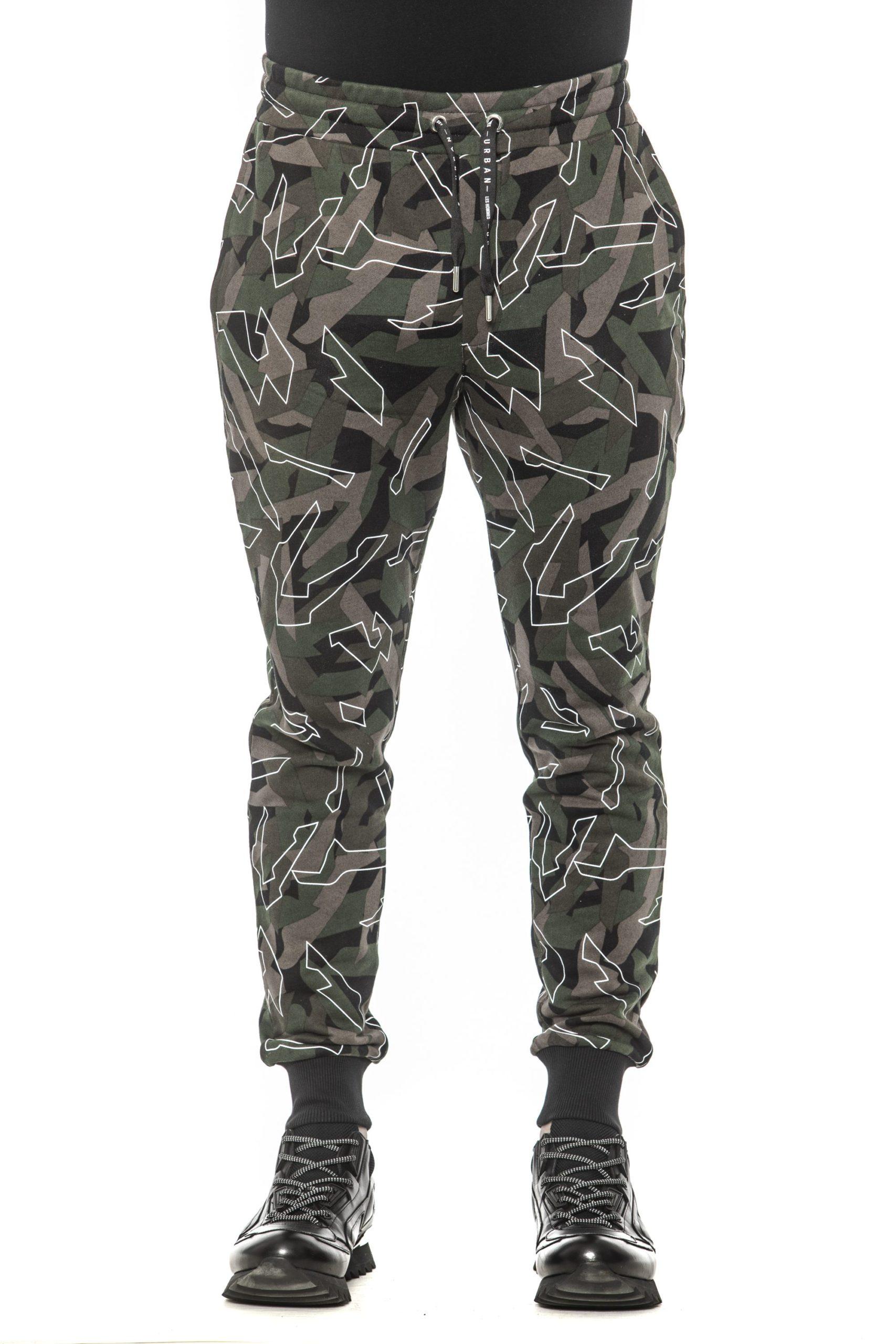 Les Hommes Men's Trouser Green LE1393470 - S