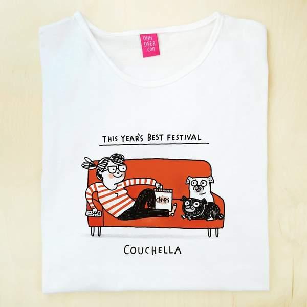XS T-Shirt - Couchella