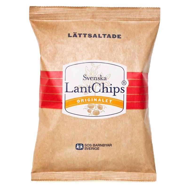 LantChips Lättsaltade - 30% rabatt