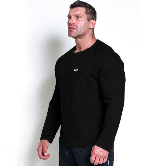 Chained L/S Thermal Sweat, Black