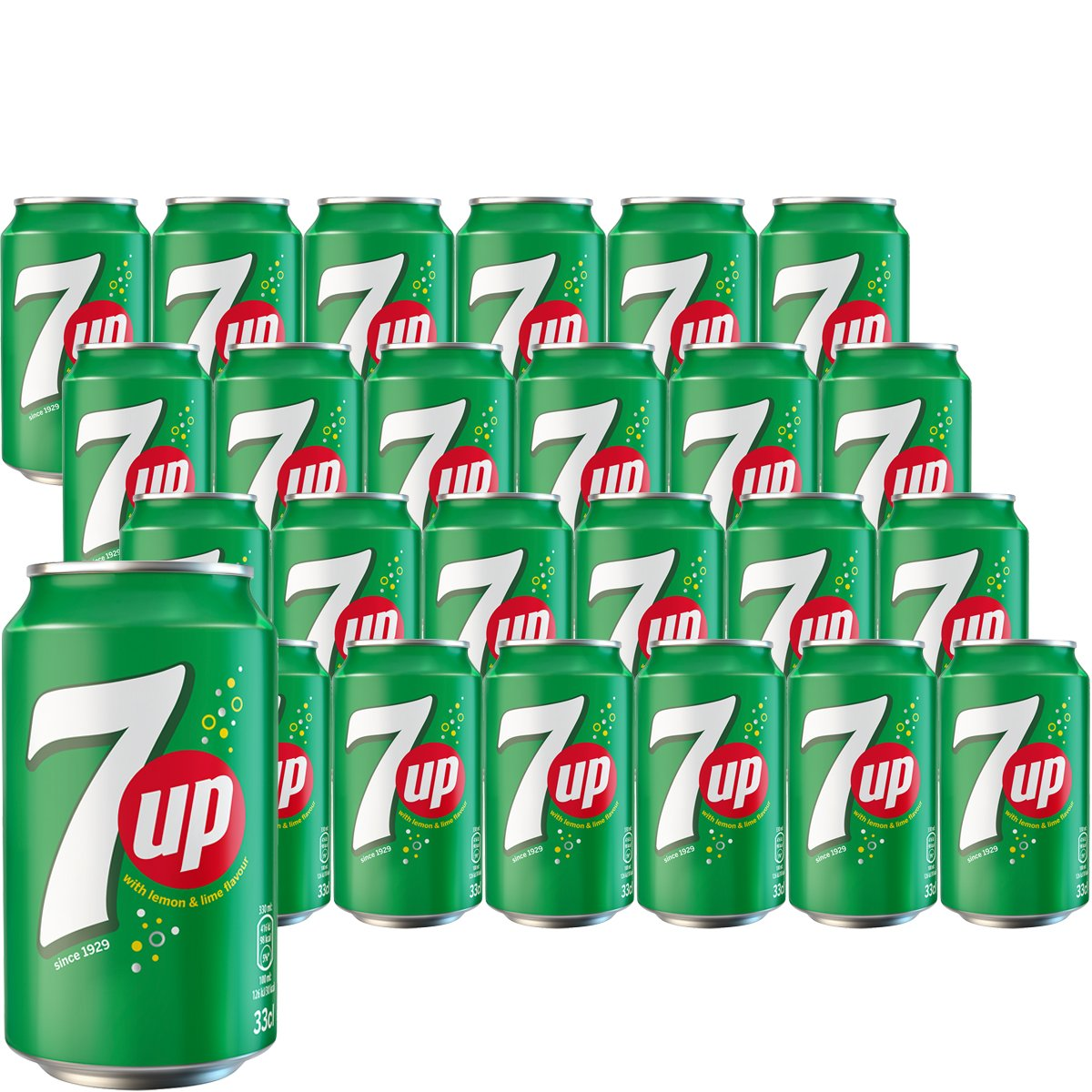7up 24-pack - 30% rabatt
