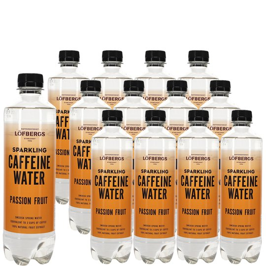 Koffeinvatten Passionsfrukt 12-pack - 55% rabatt
