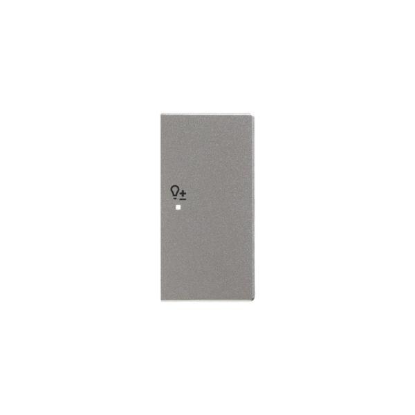ABB Impressivo 6220-0-0259 Yksiosainen vipupainike himmennin, oikea Alumiini