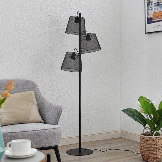 Lindby Kirill gulvlampe, 3 lyskilder