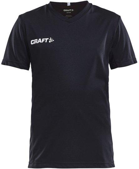 Craft Jersey T-skjorte, Svart 122-128