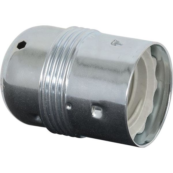 Gelia 4079031122 Lampeholder E27, glatt