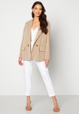 ONLY Ivy L/S Oversized Blazer Silver Lining XS