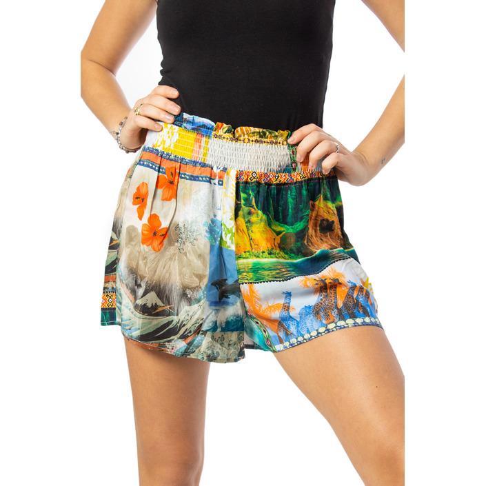 Desigual Women's Short Multicolor 170174 - multicolor S