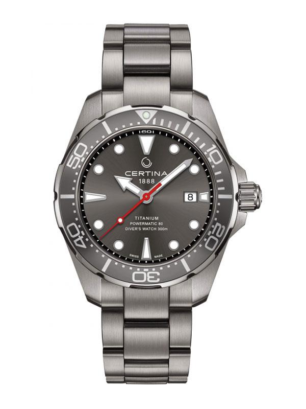CERTINA DS Action Diver Powermatic 80 Titanium C032.407.44.081.00
