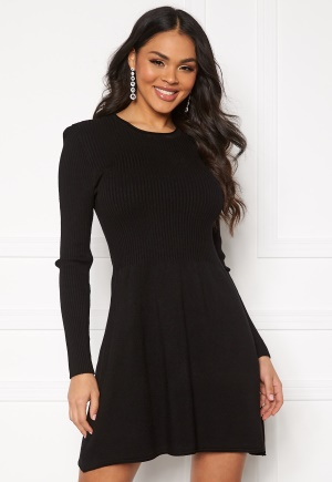 ONLY Alma L/S O-Neck Dress Black S