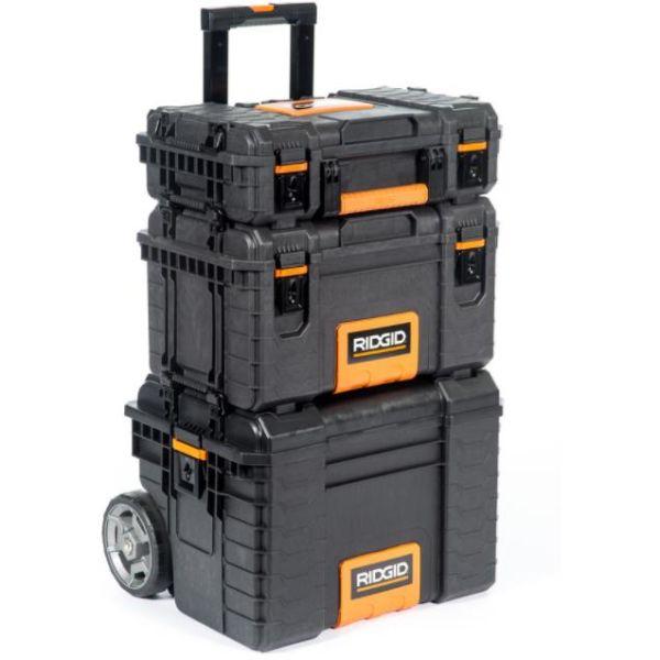 Ridgid 54358 Koffert med vogn, 3 deler
