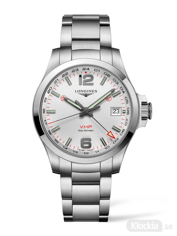 LONGINES Conquest V.H.P. GMT 41mm L3.718.4.76.6