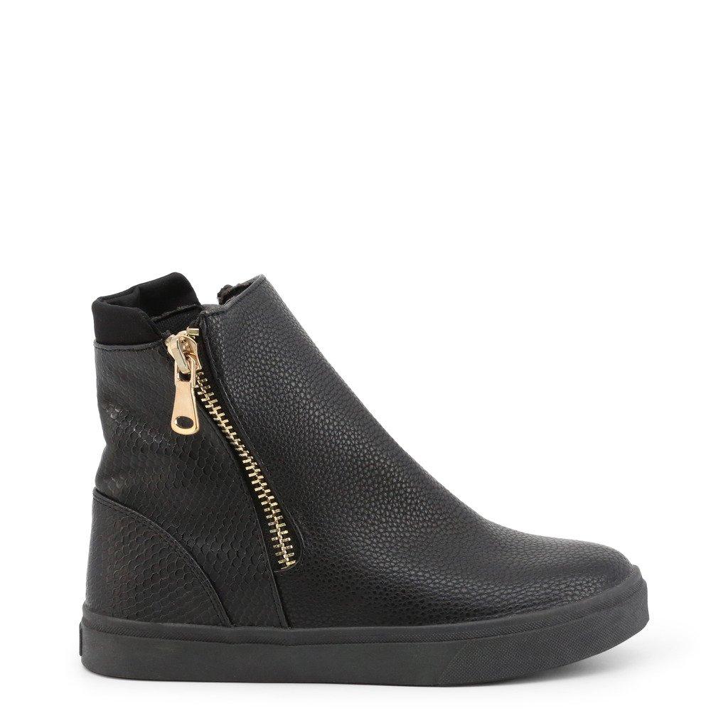 Roccobarocco Women's Ankle Boot Black ROSC1LB01 - black EU 35