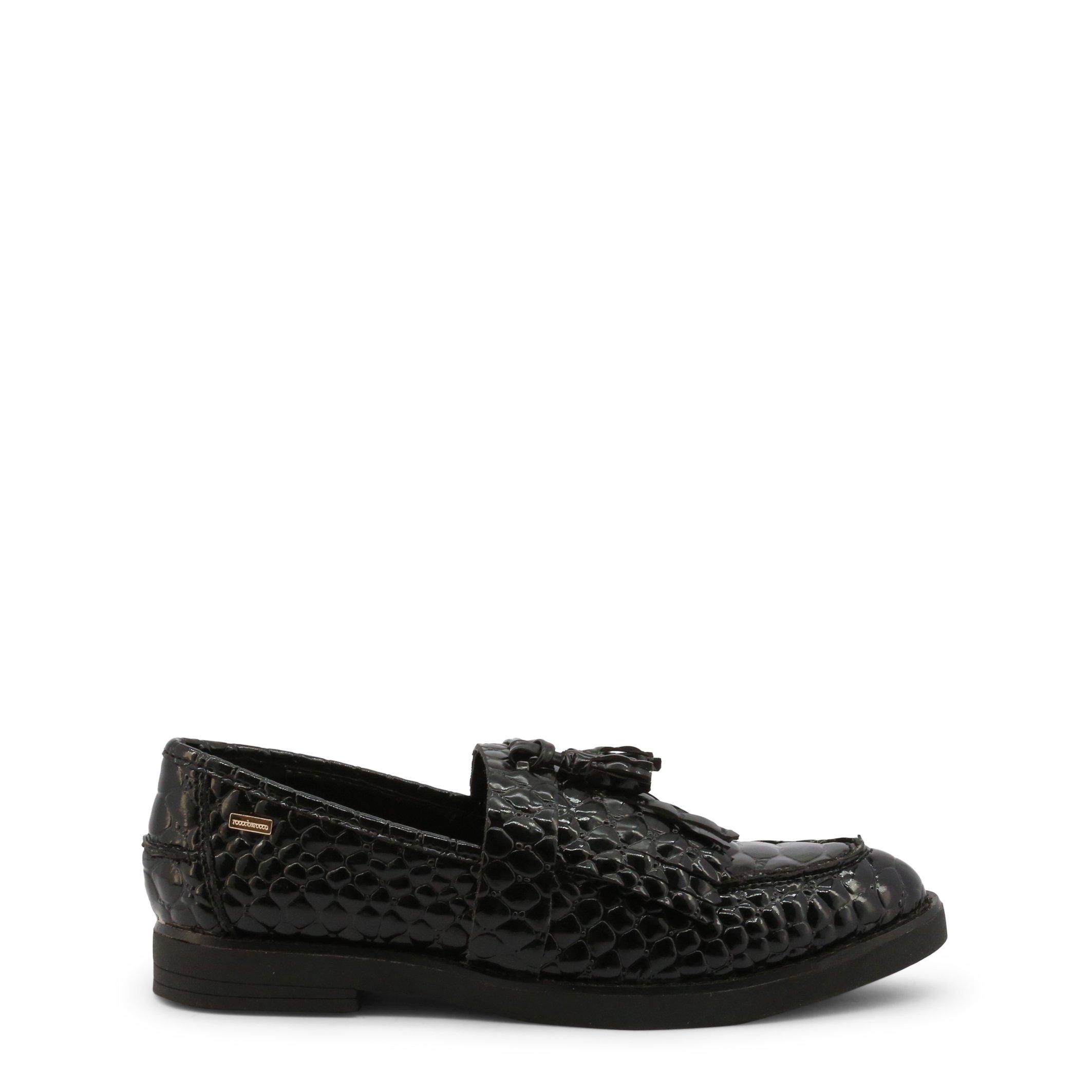 Roccobarocco Women's Loafer Green ROSC0X103PIT - black EU 39