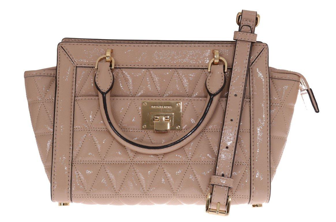 Michael Kors Women's Vivianne Messenger Bag Beige MK5028