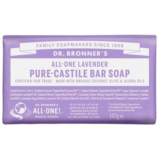 Magic Soaps All-One Hemp Lavender, 140 g Dr. Bronner's Luonnonkosmetiikka
