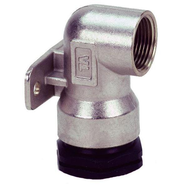 TA 3004054022 PEM-kobling metall, veggfeste, plast-innv gg 16 x G15