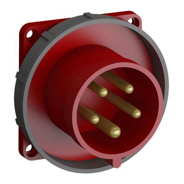 ABB 2CMA102399R1000 Panelinntak hurtigtilkoblet, vibrasjonsbestandig Rett, 5-polet, 32 A