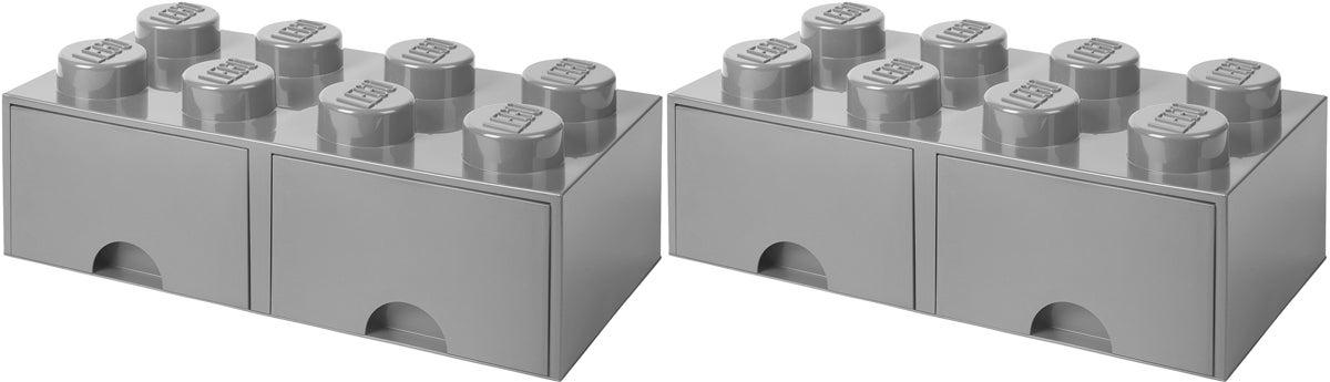 LEGO Säilytyslaatikot, Harmaa