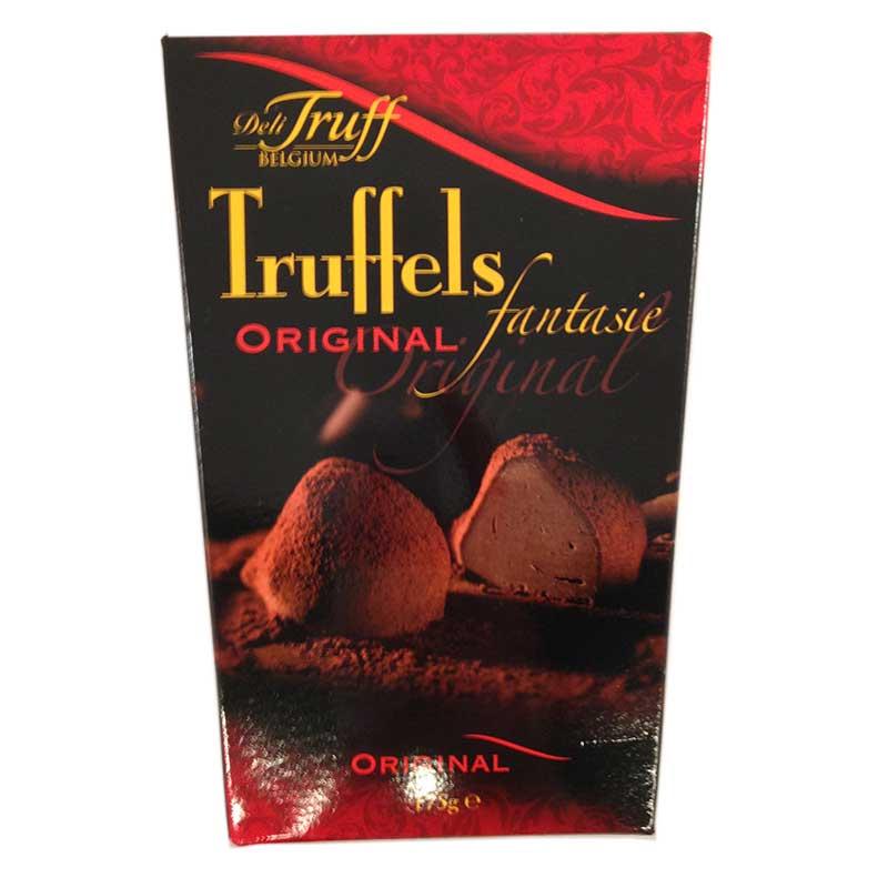Belgiska kakaotryfflar - 75% rabatt