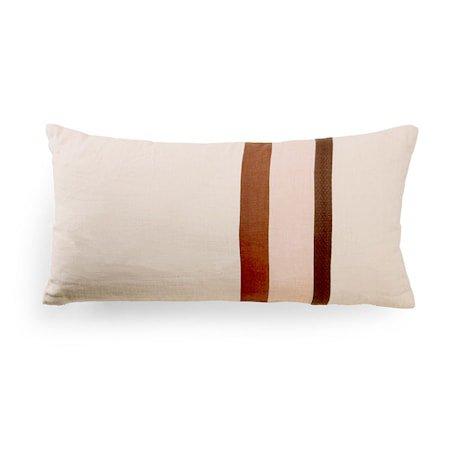 Linen Striped Cushion A 70x35 cm