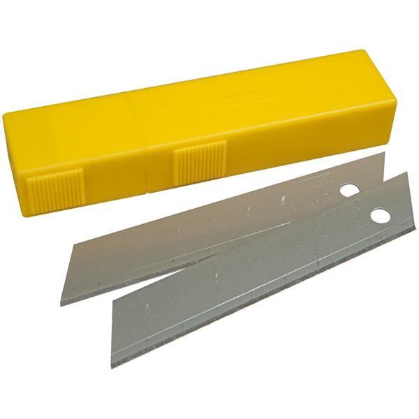 STANLEY 0-11-325 Knivblad 25 mm 10-pakning