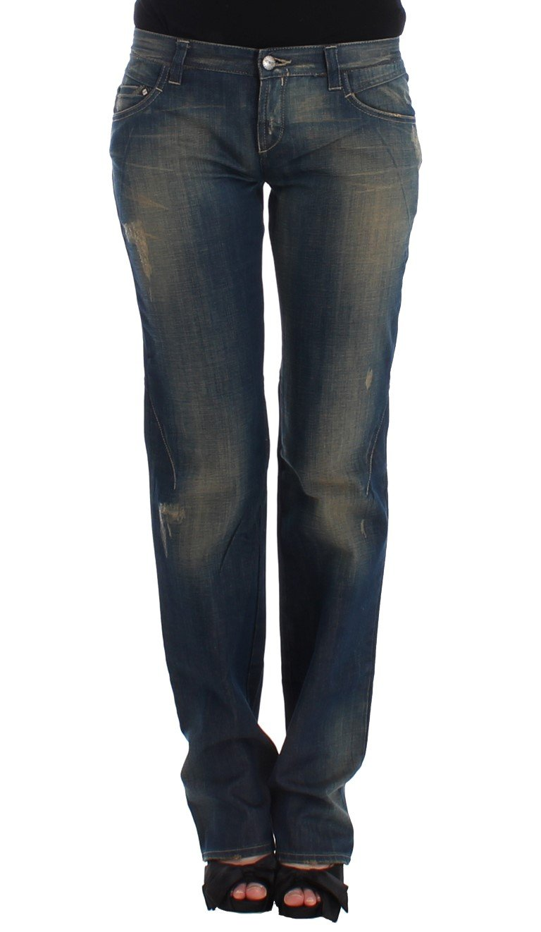 Costume National Women's Straight leg Jeans Blue SIG12554 - W26
