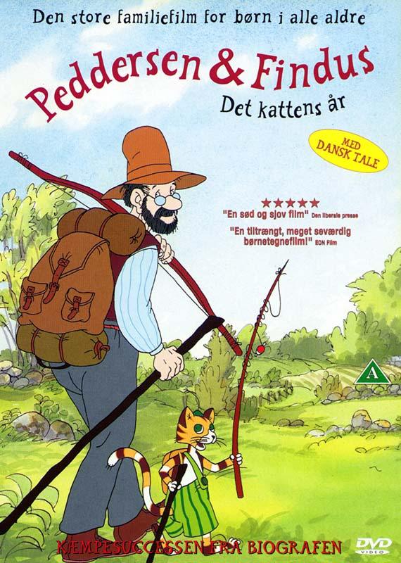 Peddersen & Findus: Det kattens år - DVD
