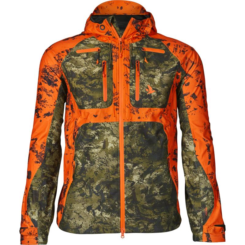 Seeland Vantage jakke 48 InVis green/InVis orange blaze